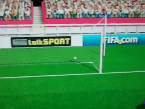 Best goal ever on FIFA 12 (Wii)