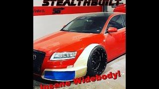 StealthBuilt Audi Wide body - Build Series - Video 1
