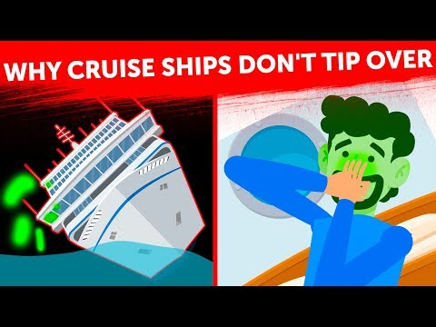 That's How Cruise Ships Can Stay Upright in Any Weather