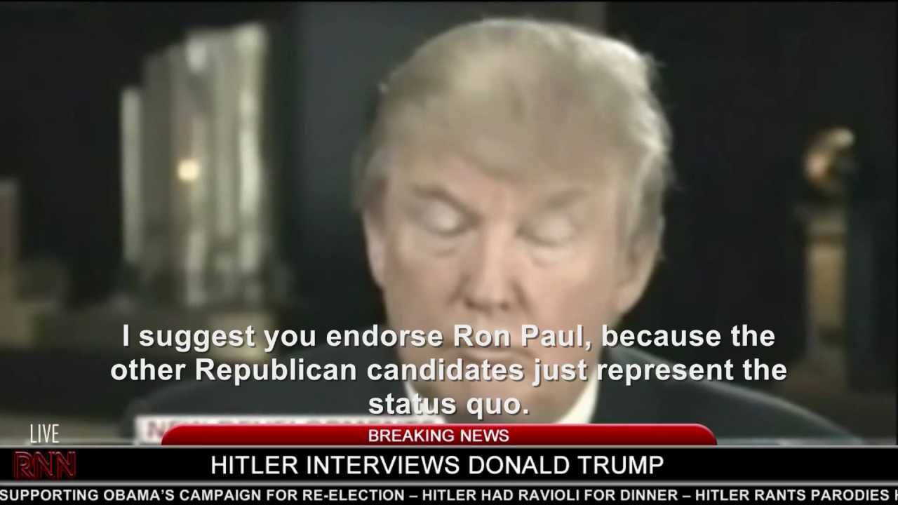 Hitler interviews Donald Trump (2012)