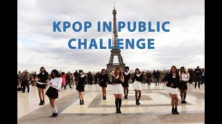 [DANCING TO  KPOP IN PUBLIC PARIS] TWICE(트와이스) - LIKEY dance cover by RISIN' CREW from France
