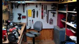 My Small Workshop Wood Working,small Engine Repair And More Projects.