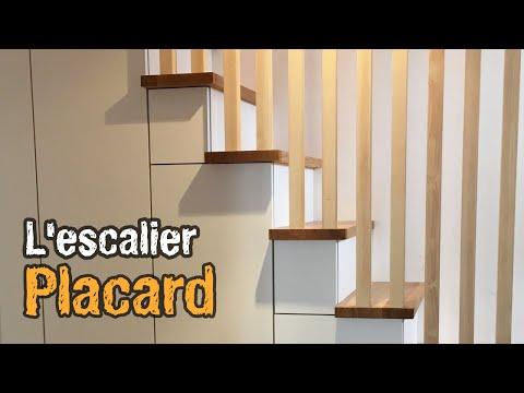 Fabriquer Un Placard Sous Escalier Sous Pente Youtube