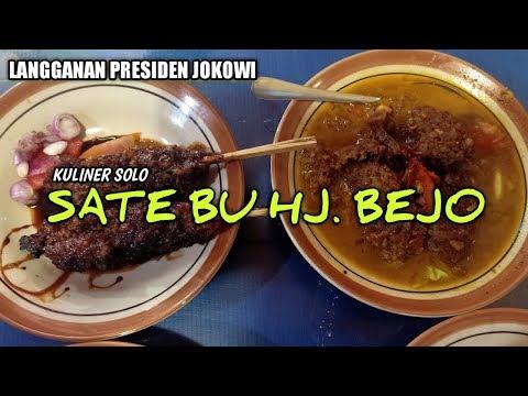 """""""-sate-kambing-bu-hj.bejo""""-langganan-dari-pak-soeharto-sampai-presiden-jokowi..mantap!!#kulinersolo"""