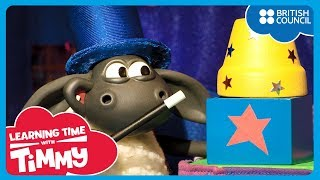 Waktu pertunjukan [Show Time] | Learning Time With Timmy