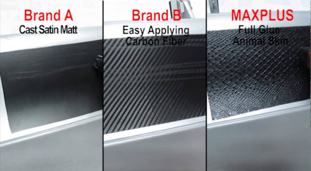 Anti Scratch Test Of Different Thickness Car Wrap Vinyl