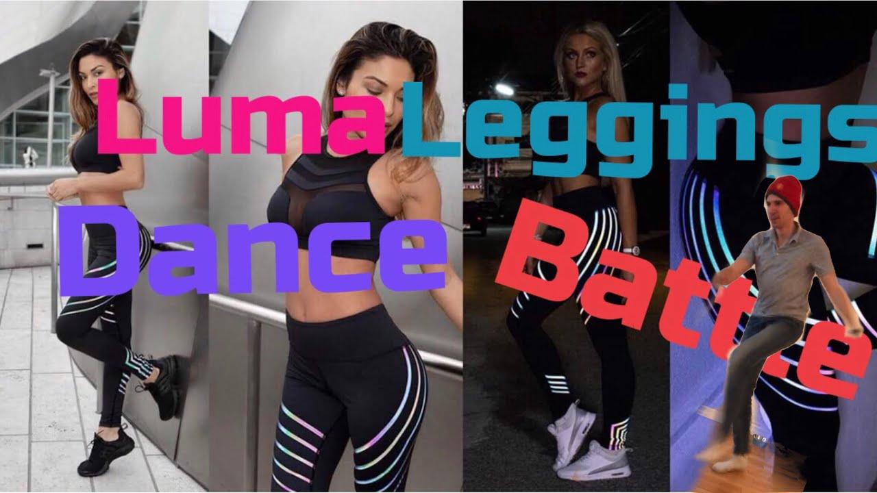 eab8c5e51f403 Luma Leggings Dance Battle! - YouTube