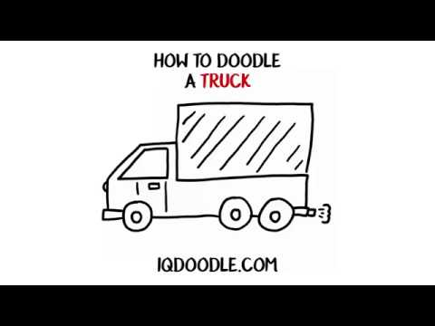 How to Draw a Truck (drawing tips)