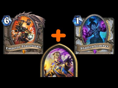 [Hearthstone] Shadowblast (16 Damage OTK, Thaurissan Fun)