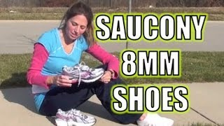Saucony Running Shoes 8mm - YouTube