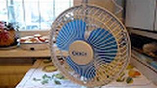 Обзор Настольного Вентилятора (прищепка) ENERGY