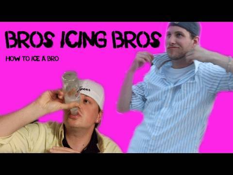 bros icing bros how to ice a bro ice your bros with smirnoff ice