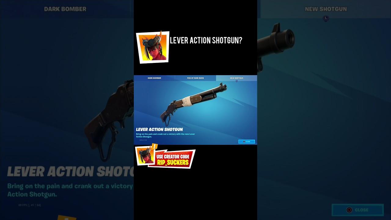 Your PoV on Fortnite Lever-Action Shotgun? #shorts