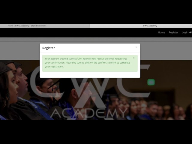 CWCA How to Enroll