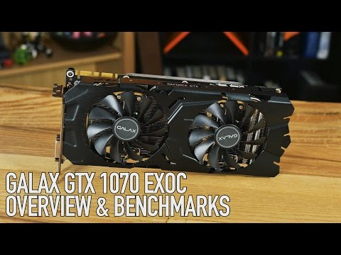 GALAX GTX 1070 EX OC | The Fastest 1070 We've Tested!