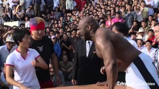 Wrestlers bring fighting diplomacy to North Korea