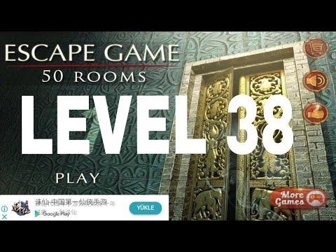 Escape The 100 Room 1 Level 38 Youtube