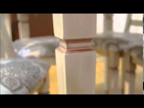 Фабрика Стульев. Столовая группа Стол 02.03 и стулья 01.03 Анжело