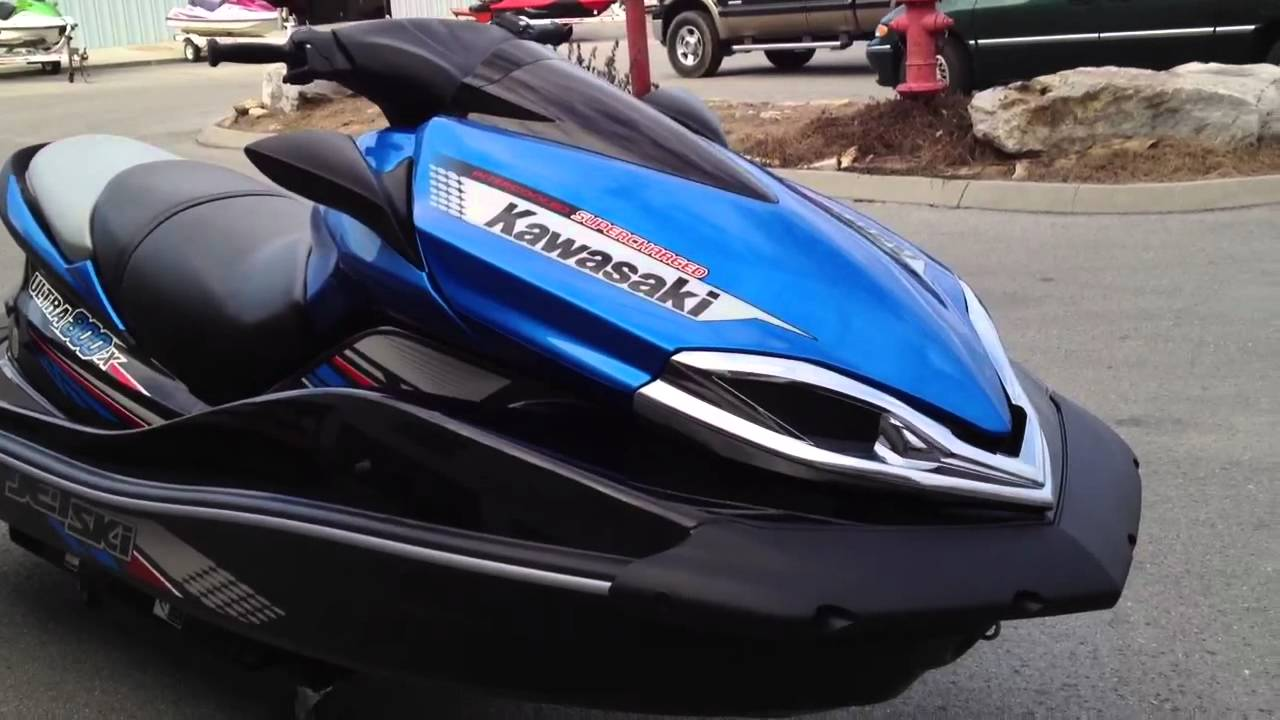 2012 Kawasaki Jet Ski Ultra 300X Blue and Black or Two-tone Ebony ...