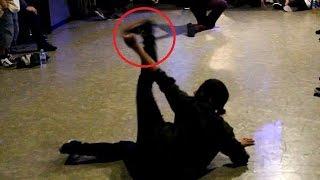 Bboy Chiba Nasty (Body Carnival) vs. flexible-style Bgirl. Battle De Kobe