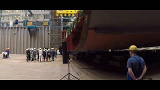 MEYER WERFT Kiellegung / Keel Laying Spirit of Adventure