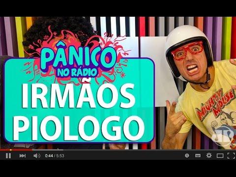 Irmãos Piologo e Carioca discutem drama das hemorroidas | Pânico