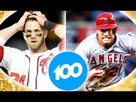 Who Can Hit 100 Home Runs First? Mike Trout OR Bryce Harper? MLB the Show 17 Challenge