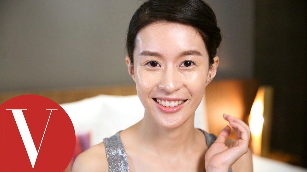 廖曉彤 傳授健健美的亮光肌怎麼做  女星請分享   VOGUE - YouTube