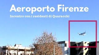 Aeroporto Firenze: con gli abitanti di Quaracchi