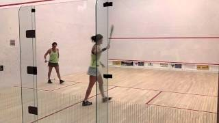 Sam Cornett vs Rachel Grinham Game 2