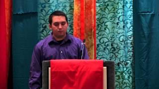Joseph Wyzinski, 2014 National Festival of Young Preachers