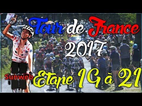 TOUR DE FRANCE 2017   TEAM SUNWEB   ETAPE 19 A 21