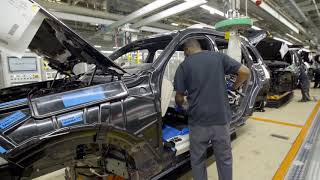 🚘  BMW X7 – PRODUCTION LINE – German Car Factory in USA 2019