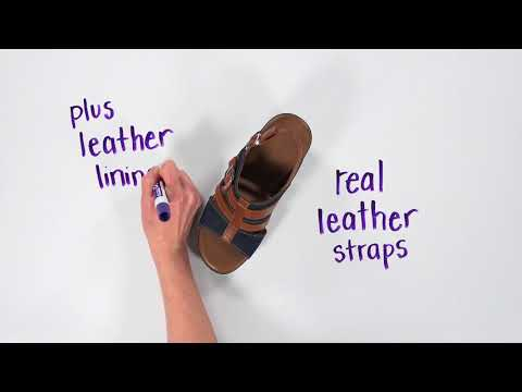 Video for Layla T-Strap Wedge Sandal this will open in a new window