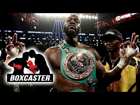 Deontay Wilder: Ready for Anthony Joshua | Boxing Highlights | BOXCASTER