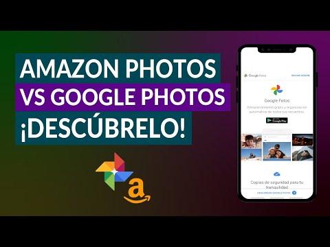 Amazon Photos vs Google Photos – ¿Cuál es Mejor? – Ventajas y Desventajas de cada uno