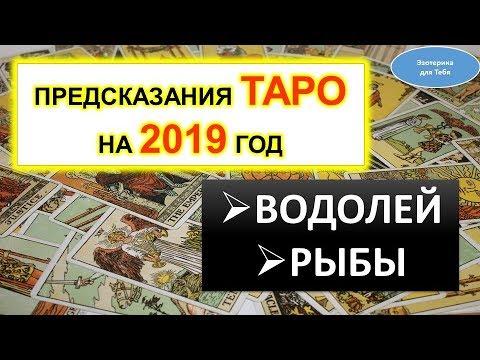 Предсказания Таро на 2019 год для Водолей, Рыбы