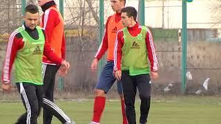 Тренировка Горняка-Спорт перед матчем с Черкасским Днепром