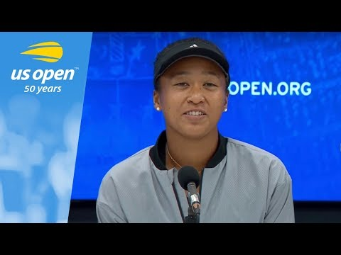 2018 US Open Press Conference: Naomi Osaka