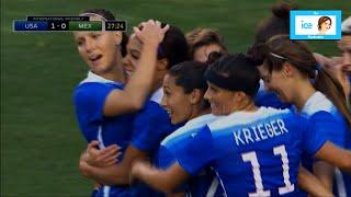 Sydney Leroux 1st Goal Against Mexico | LIVE 5-17-15