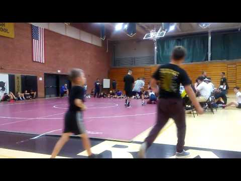 Nicholas Steele at Cibola High School Wrestling Tournament