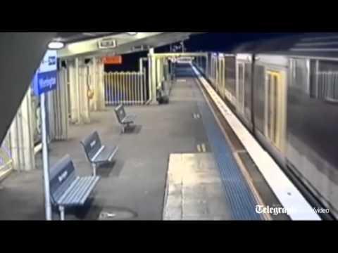 ילד ניצל בנס מפגיעת רכבת