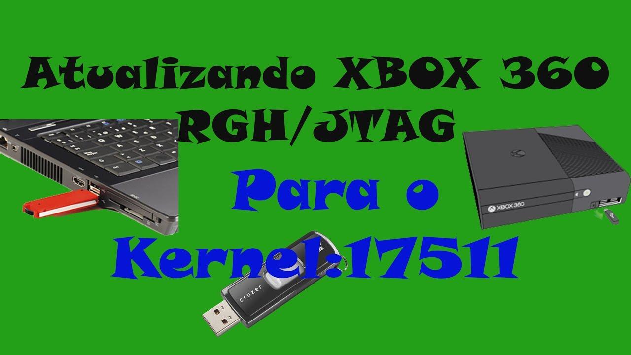 Xbox 360 atualizando XBOX RGH Para o Kernel:17511 : LightTube