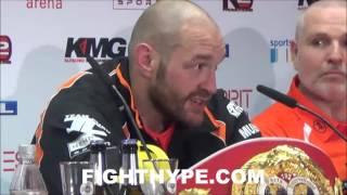 WLADIMIR KLITSCHKO VS. TYSON FURY POST-FIGHT PRESS CONFERENCE