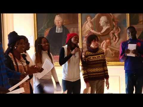 Chorale sénégalaise à Strasbourg