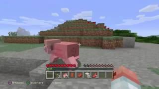 Minecraft ps4 édition #1 démarrage