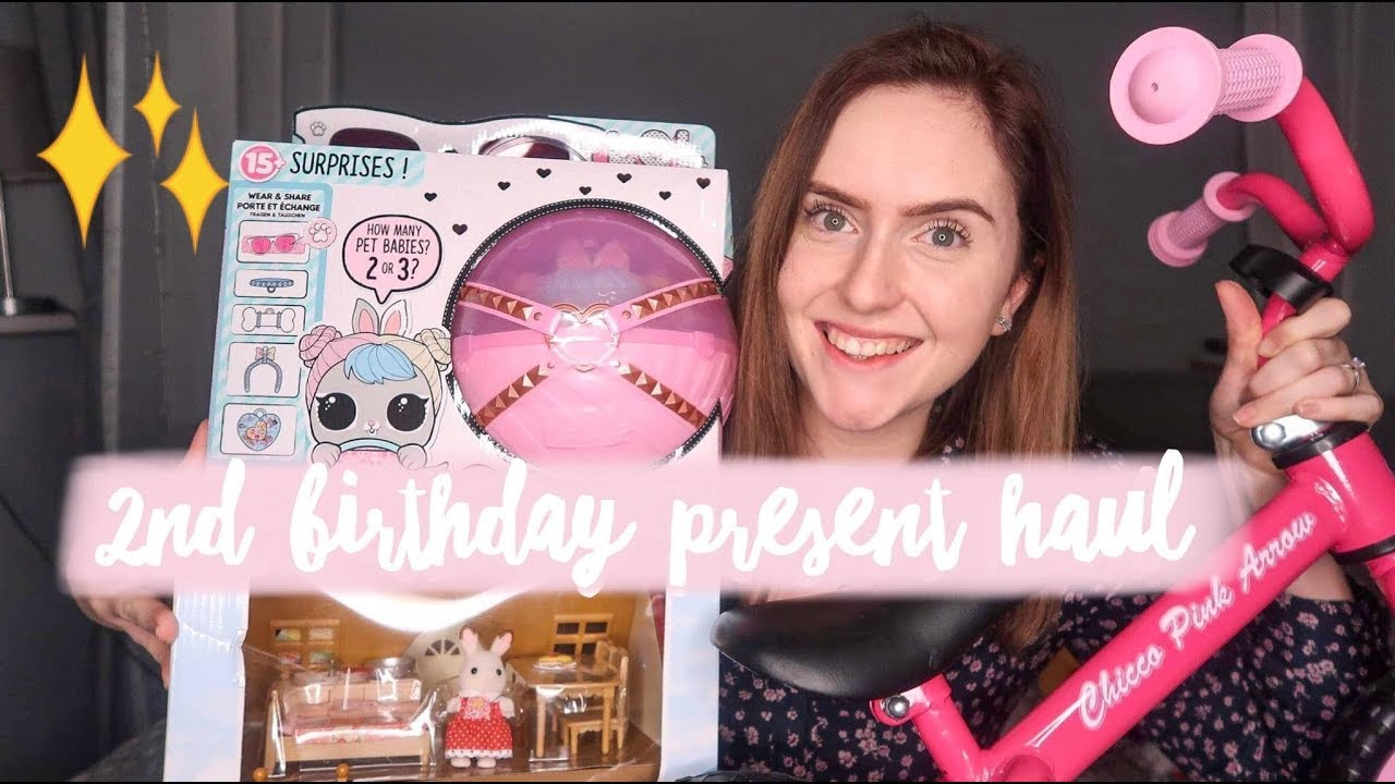 TODDLER GIFT IDEAS TWO YEAR OLD BIRTHDAY PRESENT HAUL