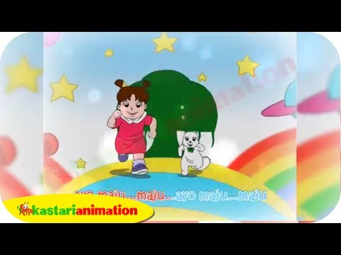 Garuda Pancasila (Lagu Nasional Indonesia) - Kastari Animation Official