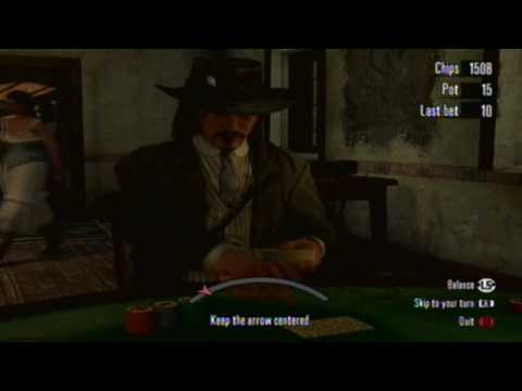 Red Dead Redemption- How To Cheat In Poker And How To Duel