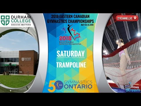 Saturday - Trampoline - 2018 Eastern Canadian Gymnastics Championships